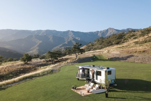 Experience Off-Grid Living With This Luxurious Travel Trailer