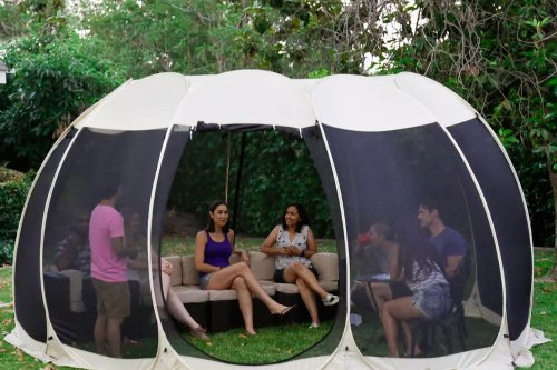 Target Is Selling Pop-Up Gazebo Domes That Are Way Cooler Than Your Average Tent
