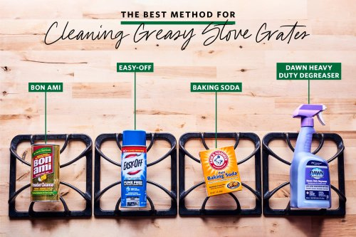 We Tried 4 Methods for Cleaning Stove Grates — And We're Still Blown Away by the Winner