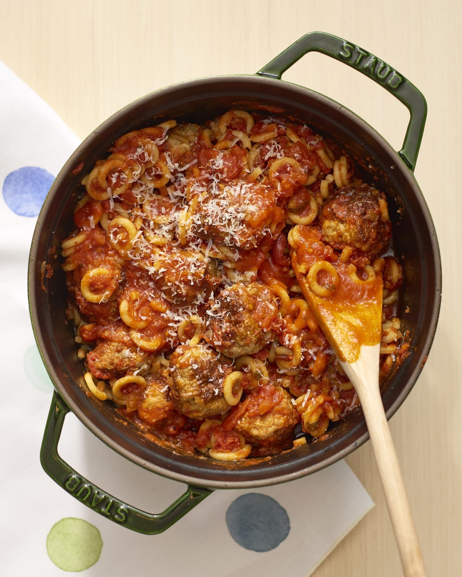 One-Pot Meatballs & Pasta Os Is SpaghettiOs All Grown Up