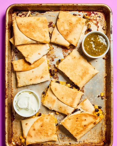 Sheet Pan Quesadillas