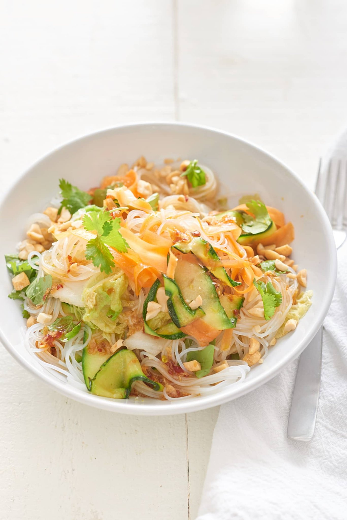 These Cold Veggie Noodle Bowls Are Perfect for When It's Too Hot to Cook