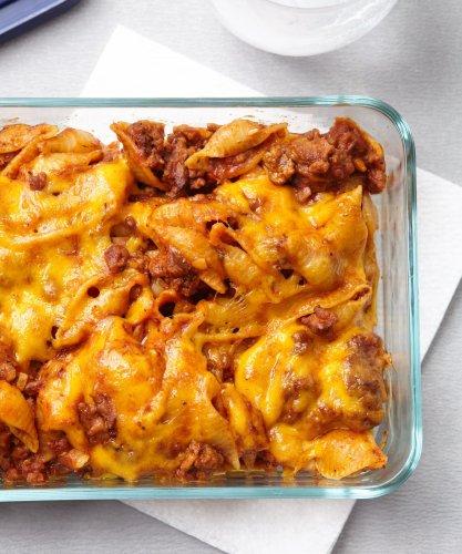Cheesy Beefaroni Is Inspired by Chef Boyardee