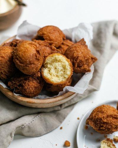 Sheldon Simeon's Andagi Are Two-Bite Doughnut Perfection