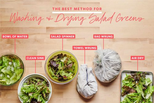 We Tested 7 Methods for Washing and Drying Salad Greens and Found a Clear Winner