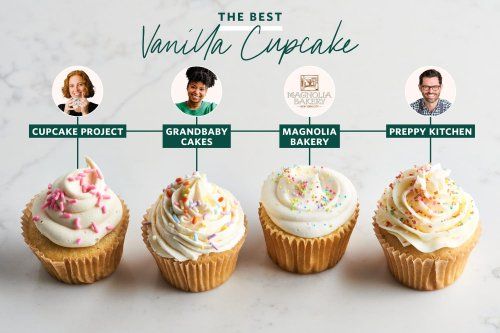 I Tried 4 Famous Vanilla Cupcake Recipes and the Winner Is Perfect in Every Way