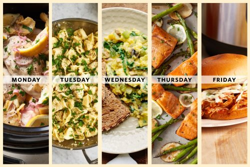 A Week of Impossibly Easy Spring Dinners