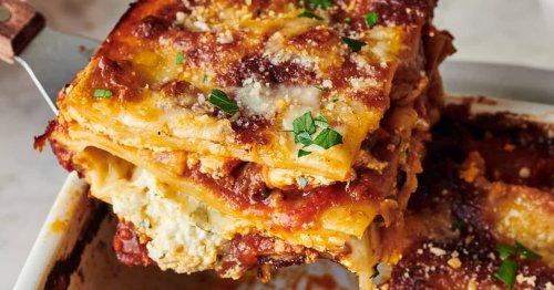 You Can Have This Turkey Lasagna on the Table in Under an Hour
