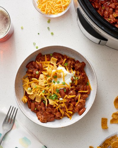 How To Cook Slow Cooker Chili: The Simplest, Easiest Method
