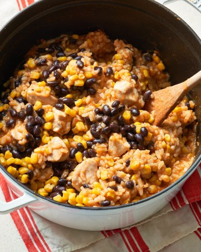 One-Pot BBQ Chicken Burrito Bowls Come Out Delicious Every Time