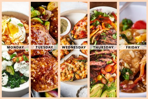 A Week of Easy High-Protein, Veggie-Packed Dinners