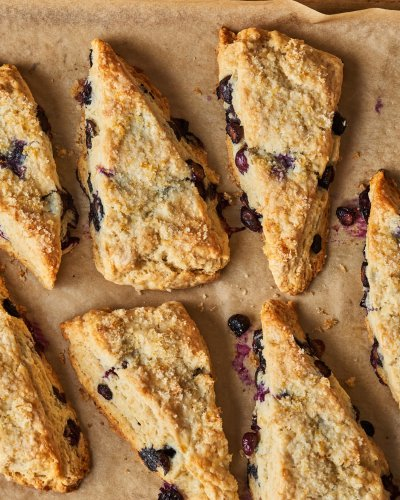 These Best-Ever Blueberry Scones Are Filled with Buttery, Flaky Layers
