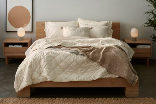 I Ditched My Thick Down Comforter for This Lightweight Version — and I'm Never Going Back