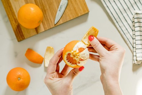 The Last Thing You Should Do with a Bunch of Orange Peels