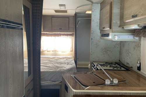 B&A: A Once-Dingy RV Was Transformed with Color, Texture, Paint, and Plants