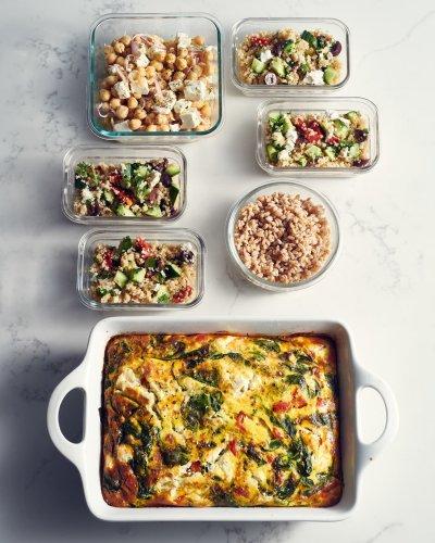 Meal Prep Plan: How I Prep a Week of Easy, Spring-Inspired Mediterranean Meals