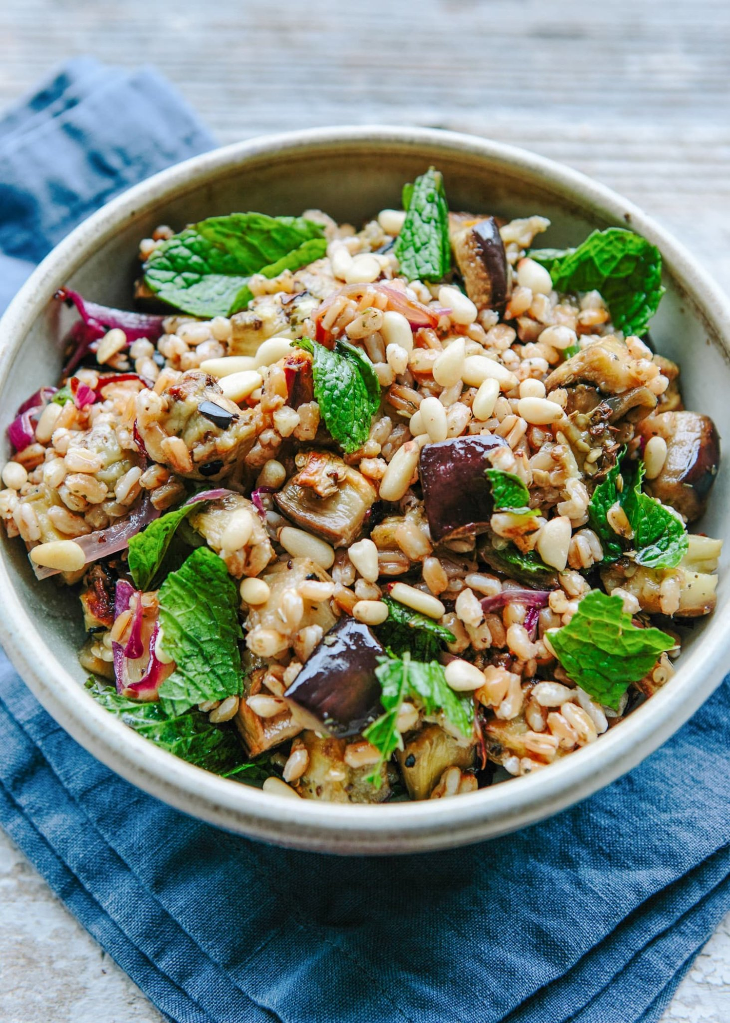 This Farro Salad Will Be Your New Go-To Lunch