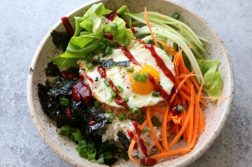 Breakfast Bibimbap Is a Satisfying, Vegetable-Filled Way to Start Your Morning