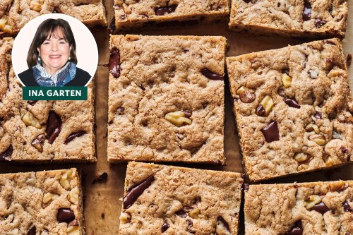 I Tried Ina Garten's Chocolate Chunk Blondies and Have a LOT of Thoughts