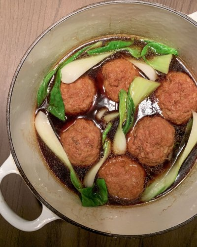 Tender, Savory Chinese Meatballs Are My Happy Place