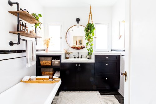 This Is a Fun, Unexpected Feature to Decorate in Your Bathroom, and You Can Get It at IKEA