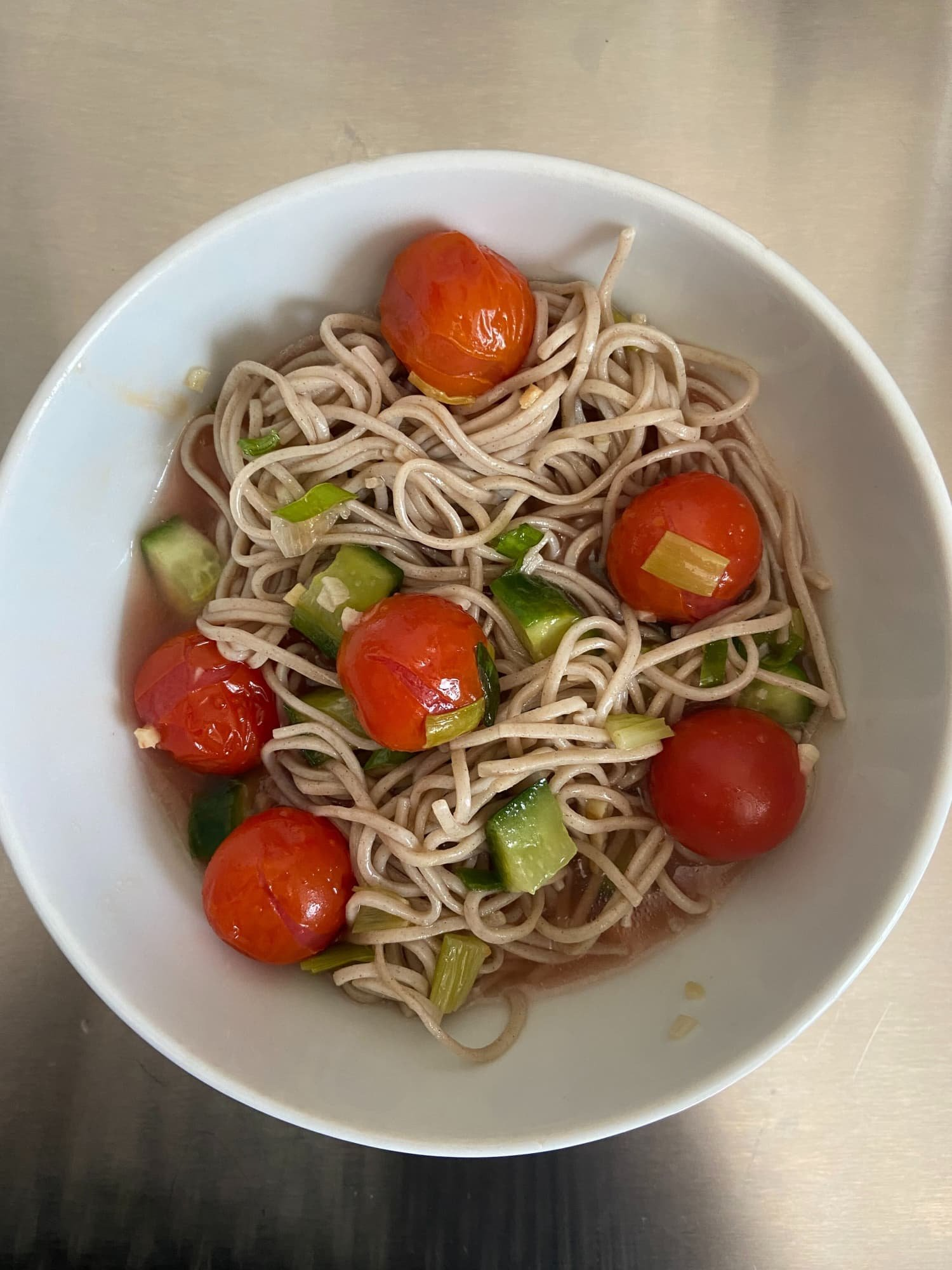 Make-Ahead Soba & Veggies Is the Perfect Cold Meal for a Hot Summer Day