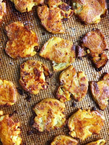 I Tried Rachael Ray's Crispy Smashed Lemon Potatoes (I Could Eat Them Every Day)