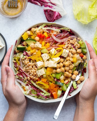 I Finally Found the Ultimate Make-Ahead Salad (It's a Lunchtime Game-Changer)