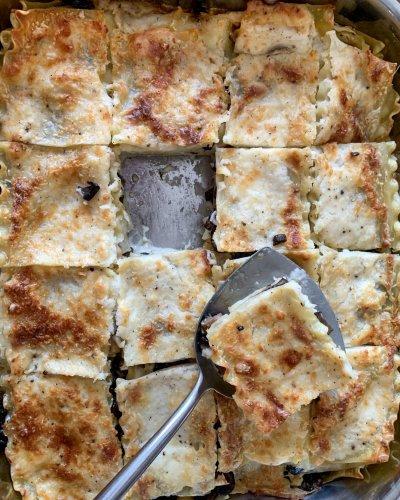 Ina Garten's Mushroom Lasagna Is the Comforting Dinner I Keep Coming Back To