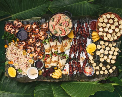 Celebrating the Filipinx American Experience with a Modern-Day Kamayan Potluck