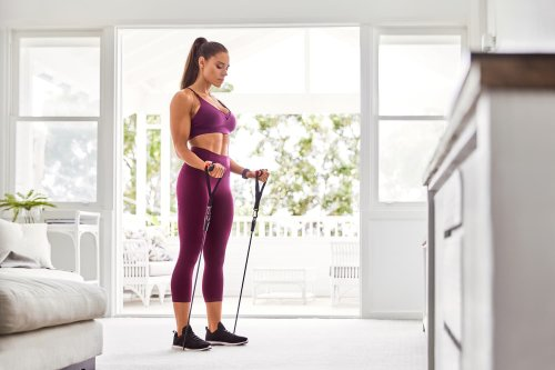 You Only Need One Tiny Piece of Equipment for This 15-Minute Total-Body Workout