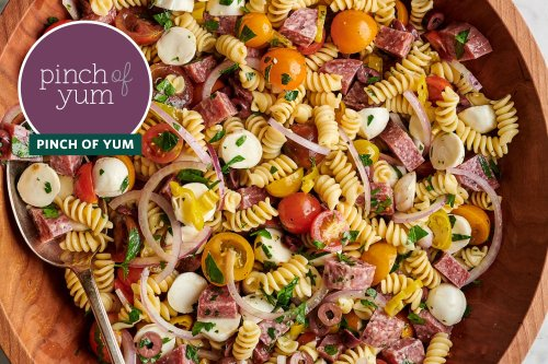 This Easy Italian Pasta Salad Is So Good, I Can't Stop Eating It Straight from the Bowl