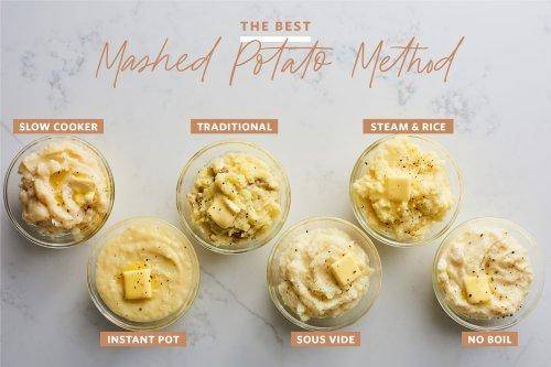 The Best Mashed Potato Method