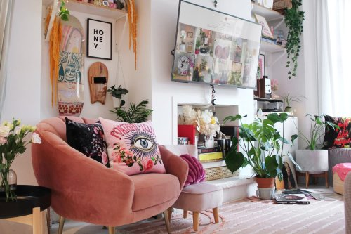 This South London Home Has a Colorful Eclectic Pop Vibe