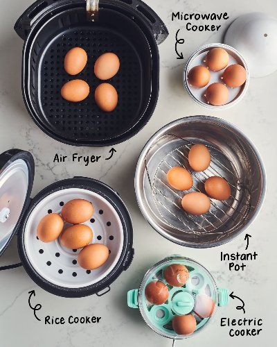 We Tested 5 Gadgets That Make Hard-Boiled Eggs — The Winner Is Absolutely Not What You'd Expect