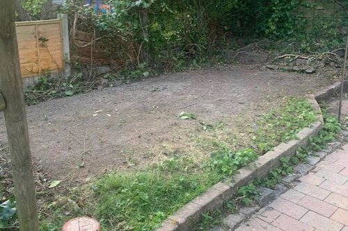 """Before and After: An """"Unusable"""" Backyard Turned Year-Round Outdoor Sanctuary"""