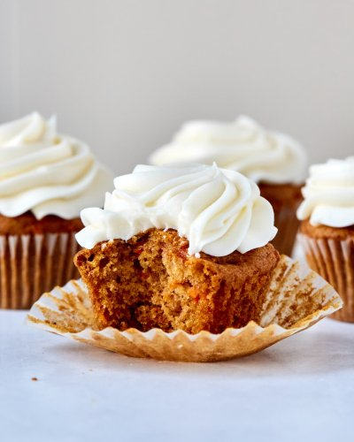 These Easy Carrot Cake Cupcakes Are a One-Bowl Wonder