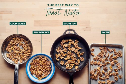 We Tried 4 Methods for Toasting Nuts and Found a Clear Winner