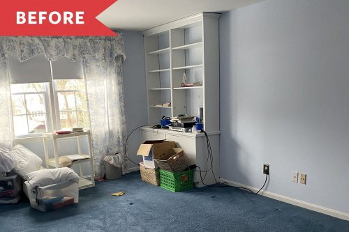See How a Real Estate Agent Worked Staging Magic on a Dated, Carpeted Bedroom