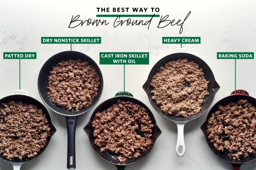 We Tried 5 Methods for Browning Ground Beef and the Winner Is a Game-Changer