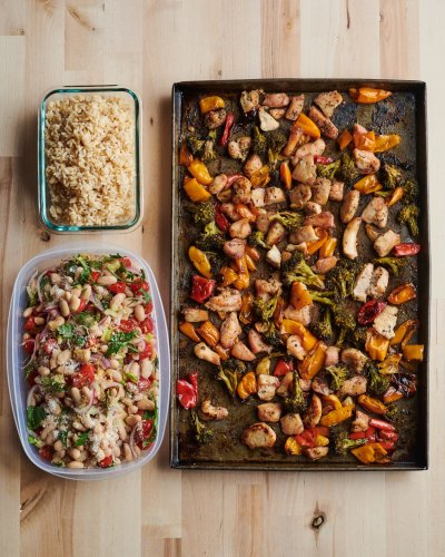 Meal Prep Plan: How I Turn 45 Minutes of Cooking into a Week of Easy Mix-and-Match Dinners