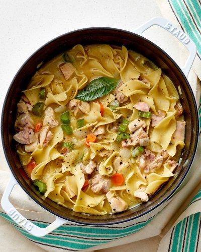 How To Make the Best Chicken Noodle Soup