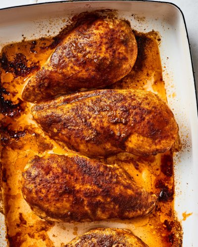 Recipe: 3-Ingredient Oven-Baked Cajun Chicken Breasts