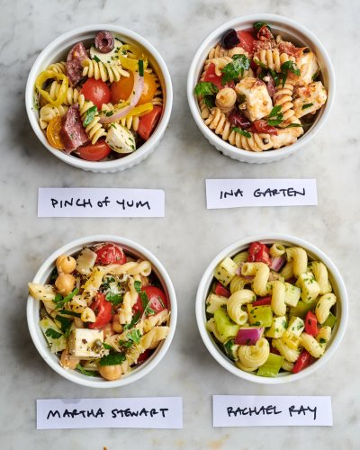 We Tried 4 Famous Pasta Salads and the Winner Completely Stole the Show