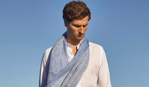 The Best Men's Summer Scarves & How To Tie Them