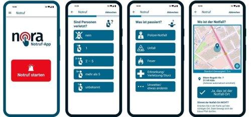 Notruf per App: Nora-App der Länder bietet stille Alarmierung und Chat mit Polizei und Feuerwehr