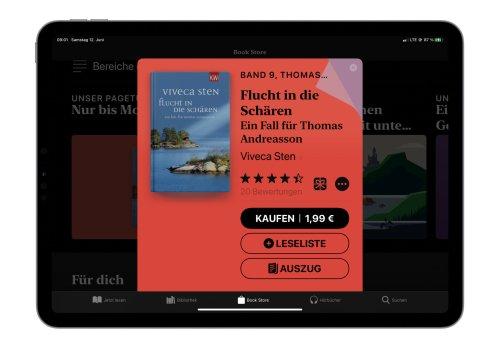 """E-Book der Woche: """"Flucht in die Schären"""" für nur 1,99€ kaufen"""