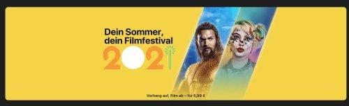iTunes Filmfestival statt iTunes Movie Mittwoch