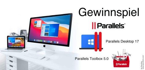 Gewinnspiel: Parallels Desktop 17 für Mac – Jetzt mit Unterstützung für macOS Monterey und Windows 11