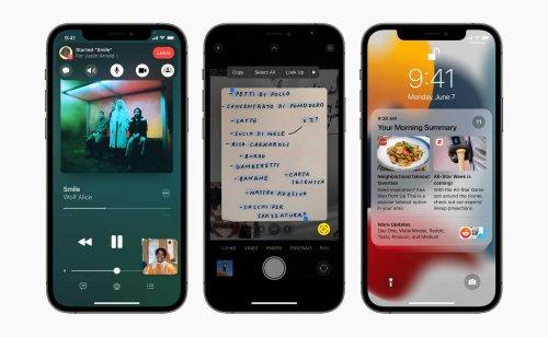 Apple stoppt Signierung von iOS 15.0.1